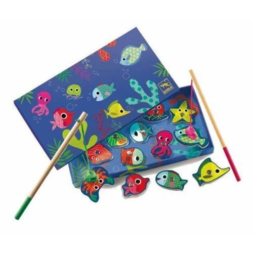 Horgászat színes tenderi állatokra - Mágneses horgászat - Coloured fishing - Djeco