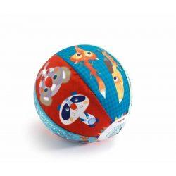 Erdei állatos textilhuzat lufira - Utazó labda - Djeco