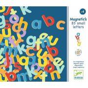 Színes betűkészlet, kisbetűk 83 db - Mágneses játék - Djeco