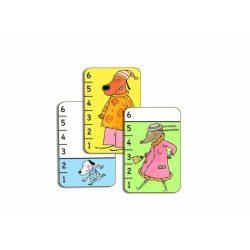 Bata waf - Kártyajáték kicsiknek -  - Djeco
