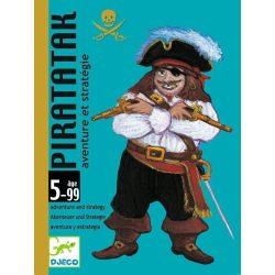 Piratatak - gyűjtögetős kártyajáték - Djeco