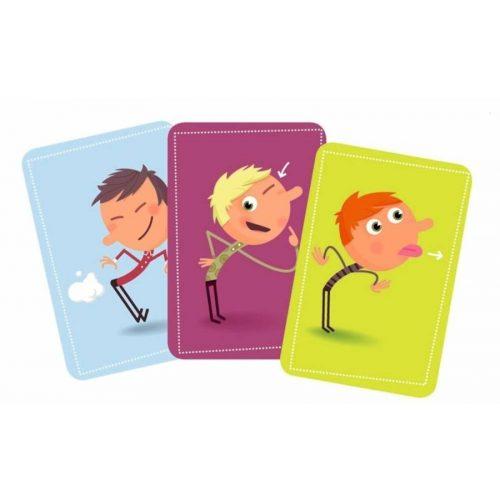 Tip Top Clap - cselekvés,memória kártyajáték  - Djeco