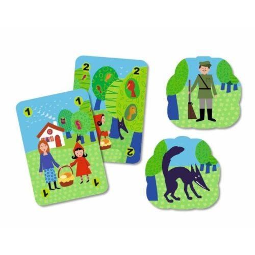 Méchanlou kártyajáték  - Djeco