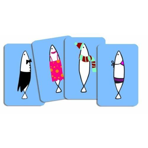 Sardines - memória kártyajáték  - Djeco