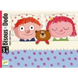 Bisous Dodo - társasjáték/ jó éjt puszi /  - Djeco