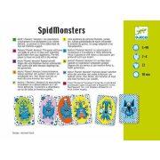 SpidMonster - kártyajáték  - Djeco