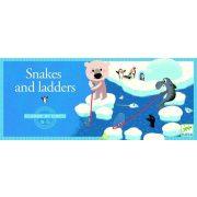 Kígyók és létrák - Snake and ladders - Djeco