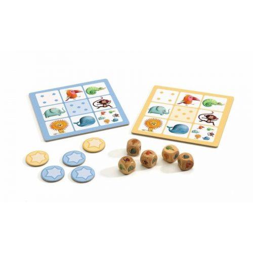 Junior kockapóker - Yahtzee junior - Djeco