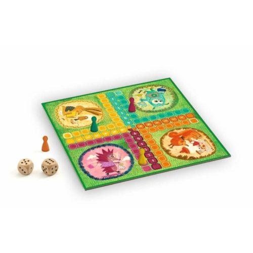 Klasszikus társasjáték - Ludo game - Djeco