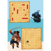 Hajócsata - Battleship - Mini logika - Djeco
