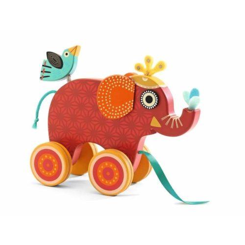 Elefánt - Húzós fajáték - Djeco