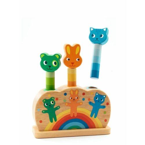 Hopp - hopp állatok - Kiugró állatok - Djeco