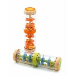 Narancs esőbot - Orange rain shaker - Djeco