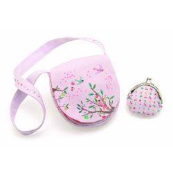Nyári kert - Kistáska pénztárcával - Summer garden bag and purse - Djeco