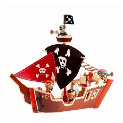 Kalózhajó - Ze pirat boat - Djeco