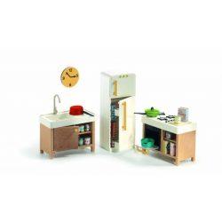 Modern konyha - Babaházhoz - The kitchen - Djeco
