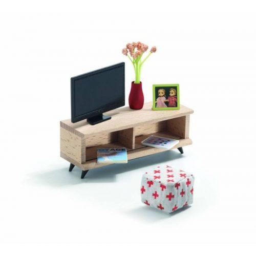 TV szoba - Babaházhoz - The TV room - Djeco