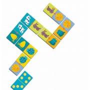 Színes állat domino - Domino colour animals - Domino - Djeco