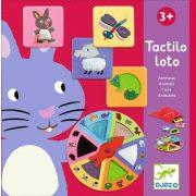 Tapintható állatok - Tactilo lotto animals - Társasjáték - Djeco