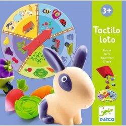 Tapintható Lottófarm - Tactilo lotto farm - Társasjáték - Djeco