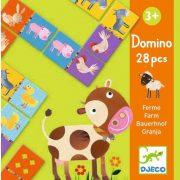 Háziállatos domino - Domino farm - Djeco