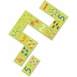 Szám dominó 6 - ig - Domino 1,2,3 - Társasjáték - Djeco