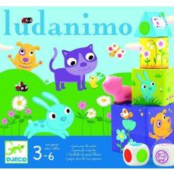 Ludanimo - 3 társasjáték a kicsiknek - Djeco