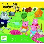Woolfy - A három kismalac - Kooperatív társasjáték - Djeco