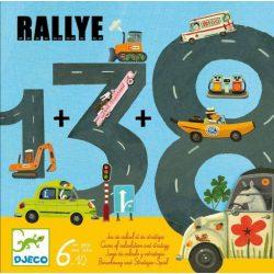 Rallye - Matematikai kártyajáték - Djeco