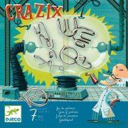 Crazix - Fém ördöglakat gyűjtemény - Ügyességi, logikai játék - Djeco