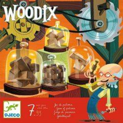 Woodix - Fa ördöglakat gyűjtemény - Ügyességi, logikai játék - Djeco
