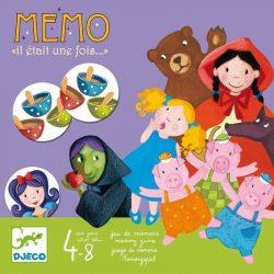 Mémo - Il était une fois - Az én mesém - Memória fejlesztőjáték - Djeco