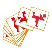Tangram - Alakzat egyeztetős fejlesztőjáték - Djeco