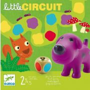 Little circuit - Színlépegetős társasjáték - Djeco