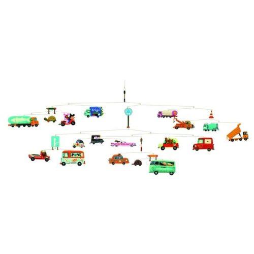 Közlekedés - Traffic - Függődísz - Djeco