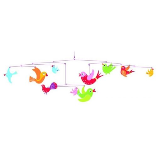 Repülő madarak - Colourful flight of fancy - Függődísz - Djeco