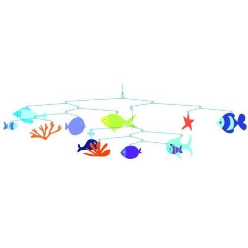 A tenger világa - Marine world - Függődísz - Djeco