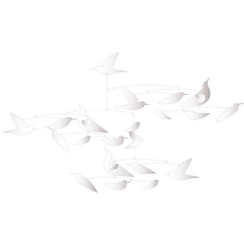 Fehér - Madarak - White birds (FSC) - Függődísz - Djeco