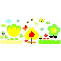 Sárga virágok - Falmatrica - Djeco