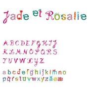 Girls alphabet - Betűkészlet lányoknak - Djeco