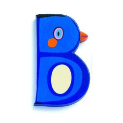 B - Állatos betűk fából - Djeco