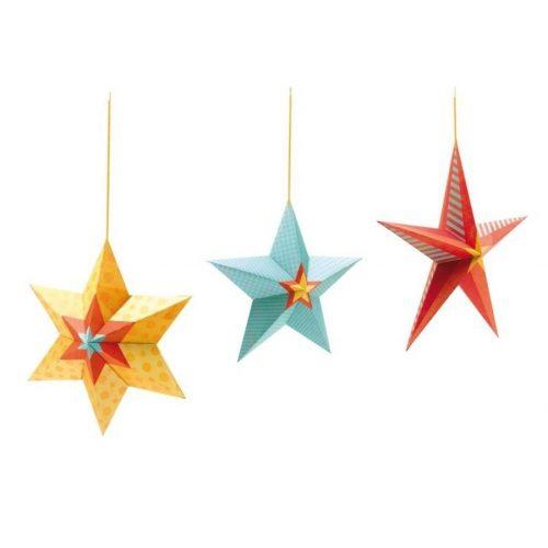 Csillagok - Stars at night - Függődísz - Djeco