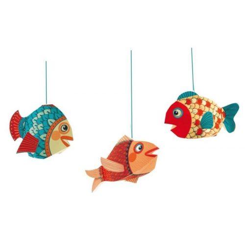 Kis halak - Little fishes - Függődísz - Djeco