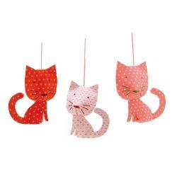 Függő cicák - Perchet cats - Függődísz - Djeco