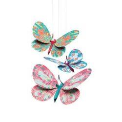 Függődísz Glitter butterflies - Djeco
