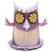 LED Lámpa Bagoly - Owl - Djeco