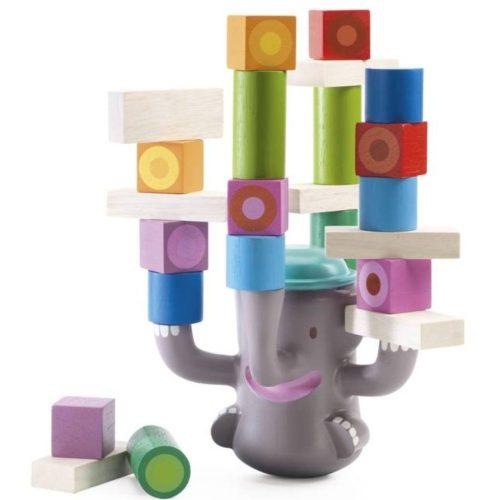 Egyensúlyozó elefánt - Egyensúlyozó ügyességi játék - Bigboum - Djeco