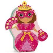Hercegnős öltöztető játék - Mágneses öltöztető - Djeco