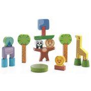 Dzsungel fa építőjáték - Satcky jungle - Djeco