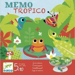 Mémo Tropico - Figyelem, emlékezet fejlesztőjáték - Djeco